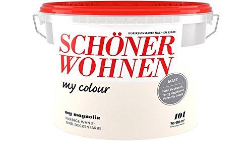 Schöner Wohnen - my colour Wandfarbe matt - 9125 My Magnolia, 10 L