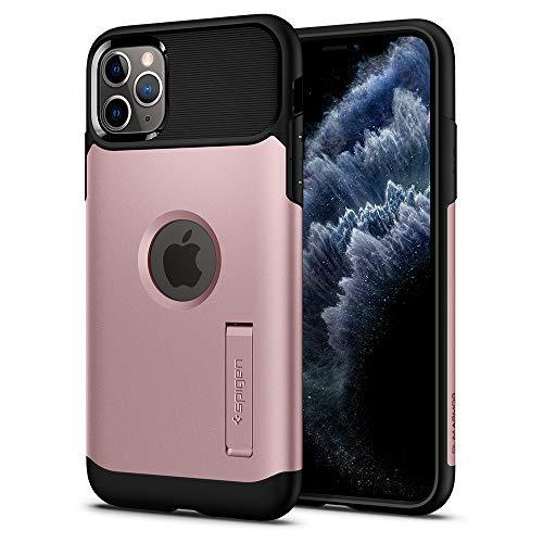 Capa iPhone 11 Pro Max Spigen Slim Armor Rose Gold, Spigen, Capa Anti-Impacto, Ouro Rose