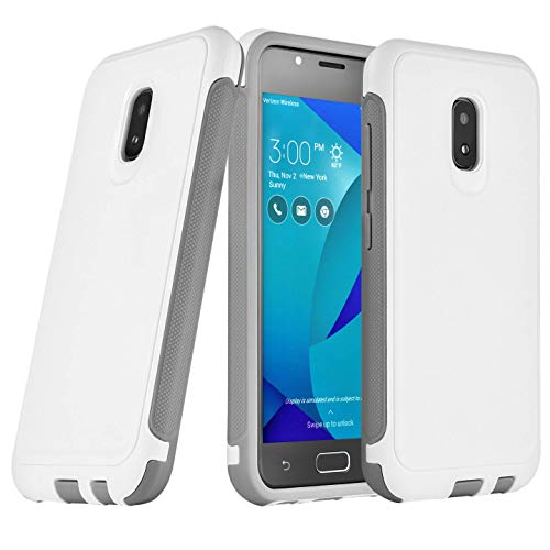 Asus Zenfone V Live Case Rugged Heavy Duty Dual Layer White A009 V500KL (IKON CASE)