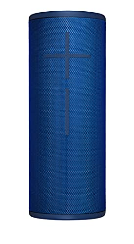 Ultimate Ears Megaboom 3 Altavoz Portátil Inalámbrico Bluetooth, Graves Profundos, Impermeable, Flotante, Conexión Múltiple, Batería de 20 h, color Azul