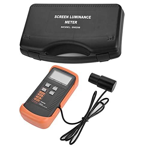 Mini-helderheidsmeter digitaal voor de industrie met meetbereik 0,01 tot 39990 cd/m