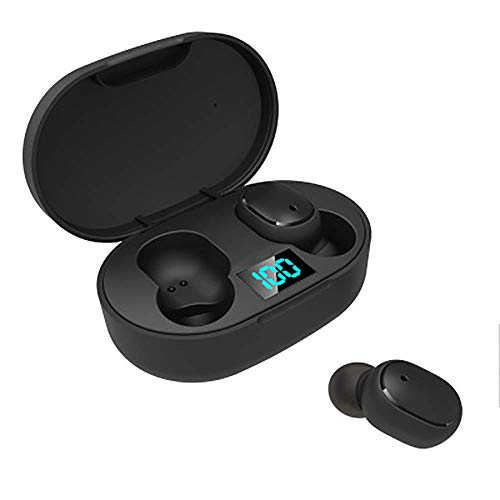 Wireless Earbuds, Bluetooth Wireless Headphones 3H Playtime Deep Bass Stereo Sound True Wireless Earphones Earbuds with Mic, Headphones for Running, Stereo Calls, Low Latency, IPX4 Waterproo