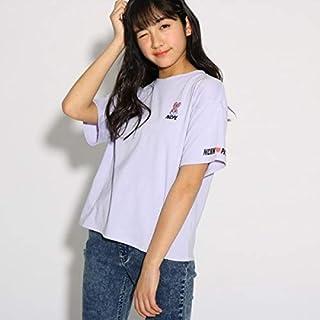 ピンク ラテ(PINK latte) ★ニコラ掲載★【NiCORON 】刺繍 Tシャツ