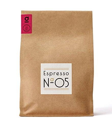 Espresso N°05 von Coffee858 – Premium Espresso-Bohnen – Feinster Arabica Blend – Kaffee-Bohnen für Vollautomaten und Siebträger – 750g