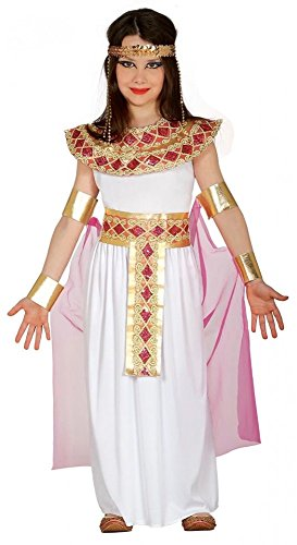 shoperama Cleopatra - Disfraz infantil de Egipto para niña, talla 134 -...