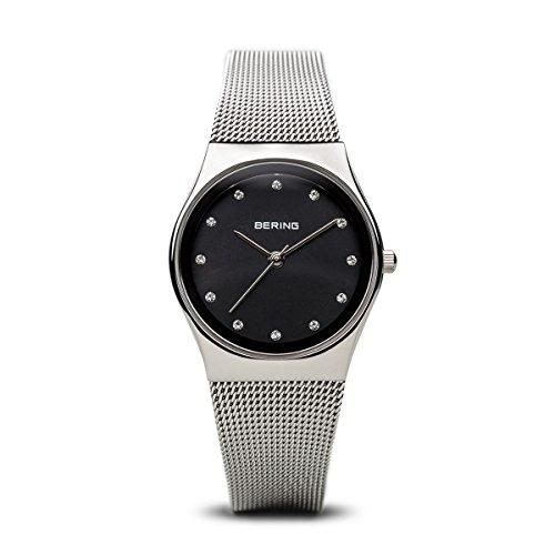 BERING Damen-Armbanduhr Analog Quarz Edelstahl 12927-002