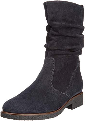 Gabor Shoes Damen Comfort Sport Hohe Stiefel, Blau (Pazifik.S/C/Mel) 86, 40.5 EU