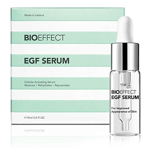 BIOEFFECT EGF Serum With Hyaluronic Acid, Renew Skin With Collagen Boosting, Moisturizing, Anti-Aging Treatment For Face And Neck, Day And Night, Best Microneedling And Derma Roller Facial Serum