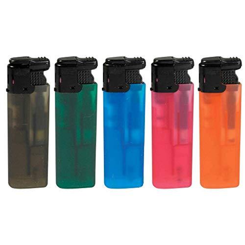 1x - más ligero de color naranja electrónico de la llama láser `Fuego Stream` surtidos - Calidad COOLMINIPRIX®