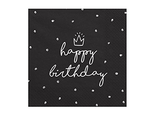 Geburtstags-Servietten