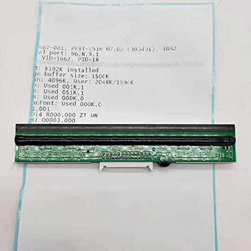 YJDSZD Piezas de la Impresora Cabezal de impresión Compatible con la Impresora térmica de Etiquetas de Escritorio Intermec PF8T Impresora de 300 PPP Repuesto de Repuesto