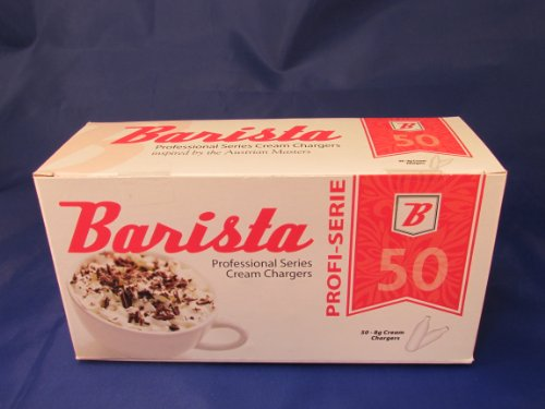 600 BARISTA Premier Austrian Whipped Cream Chargers - 12 Boxes of 50 N20