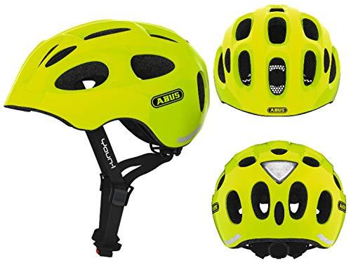 Abus Unisex– Erwachsene Youn-I Fahrradhelm, gelb, 52-57 cm