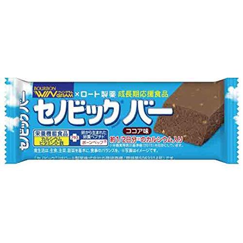 ブルボン セノビックバーココア味×2箱(18本)