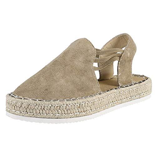 AIni Mujer Sandalias Planas Zapatos De Mujer Elegantes Zapatos De Plataforma Sandalias...