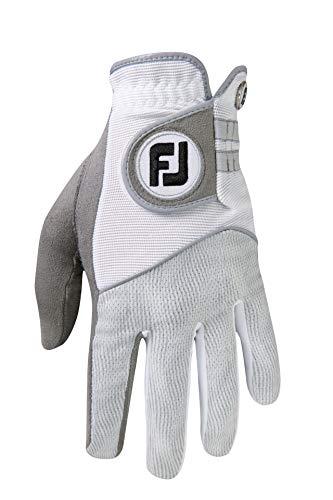 Footjoy Raingrip Handschuh Damen Grau/Weiß Linke Hand/L