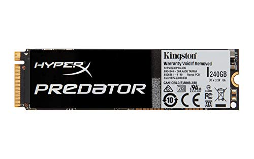 Kingston HyperX Predator SSD PCIe Gen2 x 4 (HHHL) 240GB (mit Adapter)