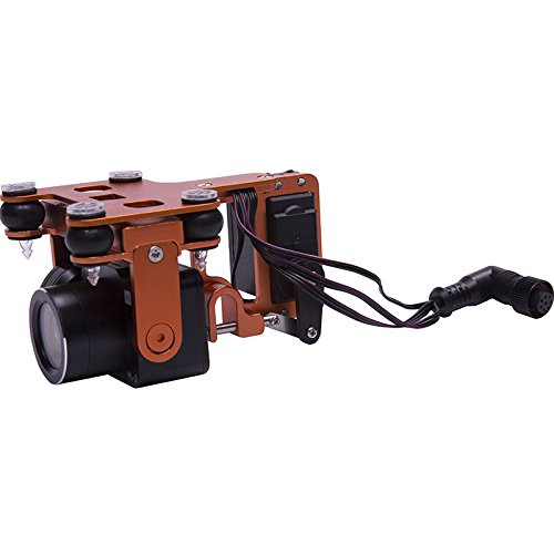 Swellpro PL3 Waterproof Payload Release with 1 Axis Stabilized and 4K Camera Gimbal