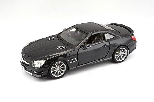 Bburago - 21066bk - Véhicule Miniature - Modèle À L'échelle - Mercedes Sl 500 Amg Hard Top - Echelle 1/24