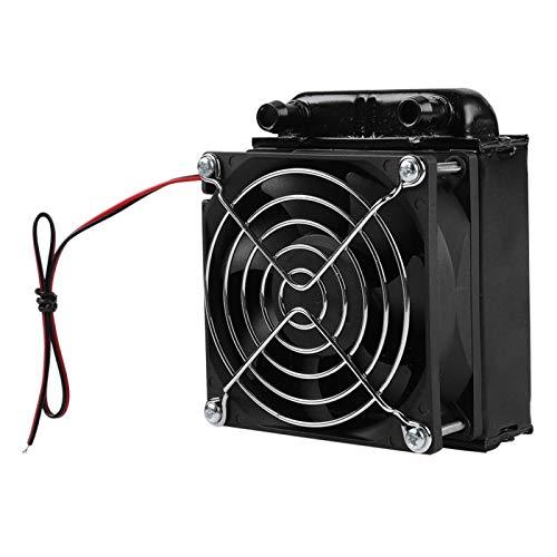 Shipenophy Práctico radiador de refrigeración por Agua de 80 mm portátil para Transportar, Ligero, fácil de Usar para computadora PC