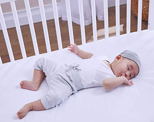 """Sealy Baby Perfect Rest Waterproof Standard Toddler & Baby Crib Mattress - 150 Extra Firm Coils, 51.7"""" x 27.3"""""""