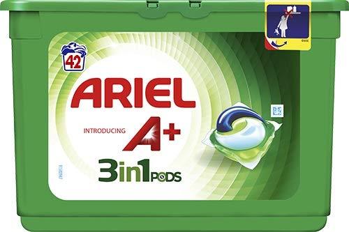 Ariel Allin1 Pods A+ Detergente en Capsulas Para la Lavadora, 42 Lavados