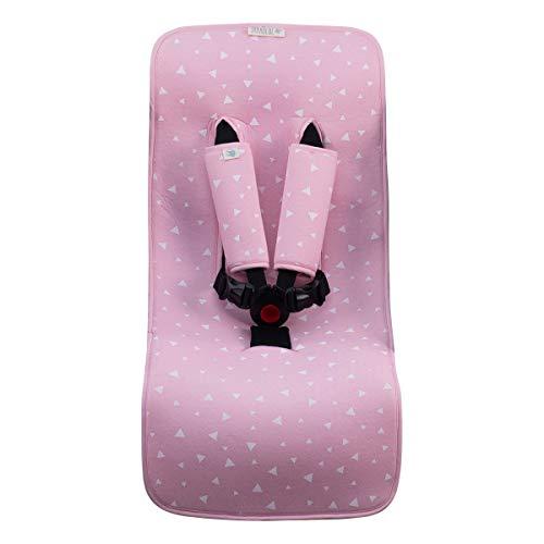 JANABEBE Housse Universal Couverture pour Poussette (Pink Sparkles)