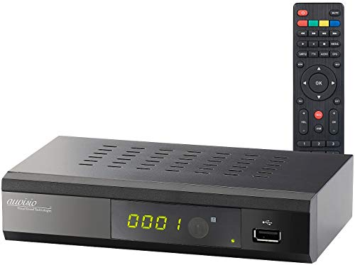 auvisio DVB C Receiver: Digitaler DVB-C-Kabelreceiver DCR-100.fhd, Full HD (Digital Receiver)