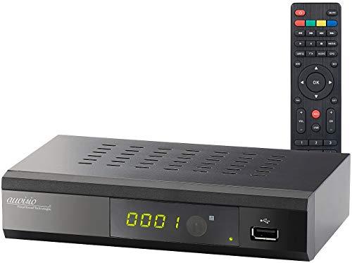 auvisio DVB C Receiver: Digitaler DVB-C-Kabelreceiver DCR-100.fhd, Full HD (DVBC2 Receiver)
