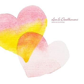 Love Is Decalkomani