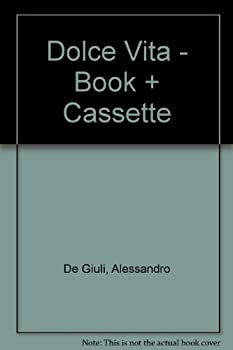 Paperback Dolce Vita - Book + Cassette (Italian Edition) [Italian] Book