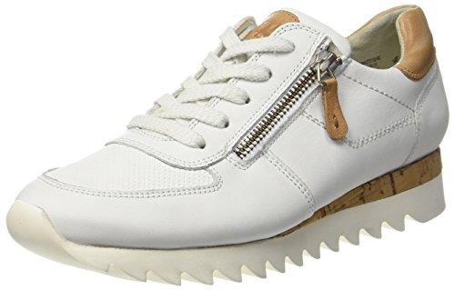 Paul Green Damen 4485001 Sneaker, Weiß (White), 39 EU (8.5 US)