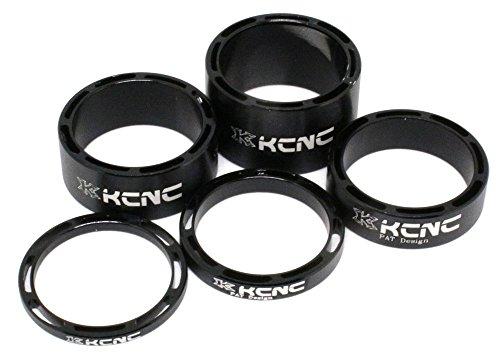 Kit 5 Separadores Dirección KCNC Negro