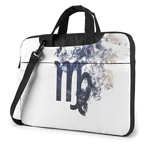Zodiac Sign - Virgo Cute Laptop Case Laptop Shoulder Messenger Bag Sleeve for 15.6 Inch