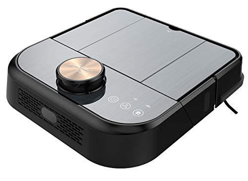 Sichler Haushaltsgeräte Sauger: WLAN-Staubsauger-Roboter mit Wisch- & Kehrfunktion, 360°-Laser-Sensor (Saugrobotor)