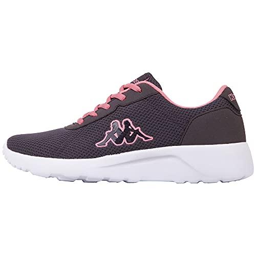 Kappa Damskie buty sportowe Tunes W, szary - 1672 szare flamingi. - 39 eu