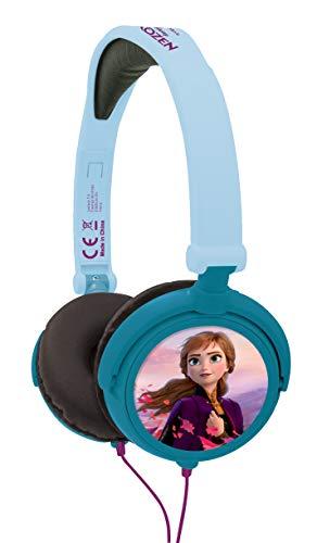 Disney HP010FZ Auriculares Estéreo, Diadema Ajustable Y Plegable, Azul