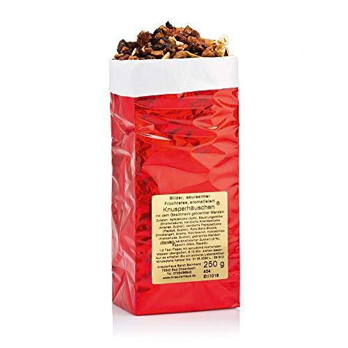 Sanct Bernhard Früchtetee Knusperhäuschen mit dem Geschmack gebrannter Mandeln 250 g