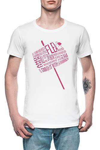 Its Brilliant Brilliant Brilliant I Tell You Herren T-Shirt Tee Weiß Men's White T-Shirt