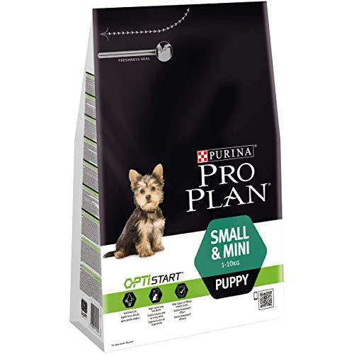PURINA PRO PLAN Small & Mini Puppy Welpenfutter trocken mit OPTISTART, reich an Huhn, 1er Pack (1 x 3kg)