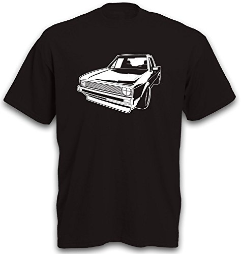T-Shirt Golf1 Caddy Golf 1 Auto Youngtimer Oldtimer PKW Golfshirt Gr. L