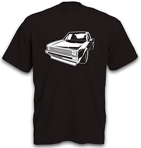 T-Shirt Golf1 Caddy Golf 1 Auto Youngtimer Oldtimer PKW Golfshirt Gr. XL
