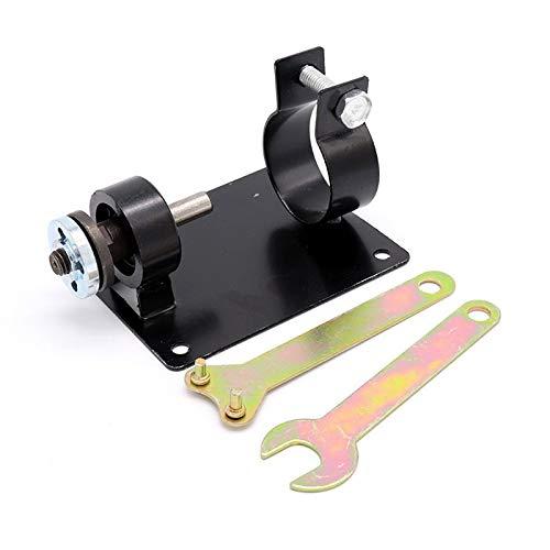 1 STÜCK Bohrmaschine Schneiden Sitz Stehen Maschine Halterung Stange Stangentisch Winkelschleifer + 2 Schraubenschlüssel