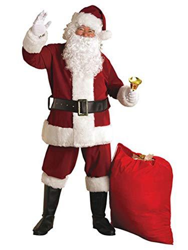 Rubies Regal Crimson Deluxe Plush Santa Suit Costume Adult XX-Large