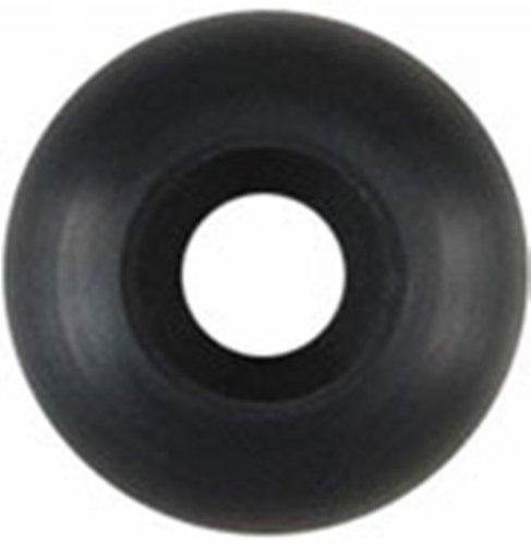 Blank Skateboard Wheels (Black, 53mm)
