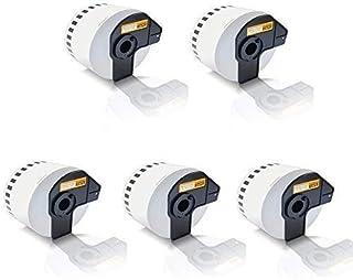 3x Compatibile Etiketten-Rollen per Brother P-Touch DK-11240 QL1000Series QL1050 QL1050N QL1060N DK11240 102 mm x 51 mm 600 Etichette 102 mm x 51 mm 600 Label Ufficio Eco Serie