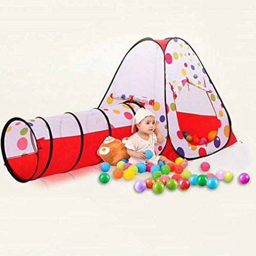 Galaga Foldable 3 In 1 Tent - Kids Play House Tents & Tunnel - Children Playhouse Gifts Tents for Indoor or Outdoor