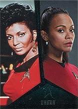 Star Trek TOS Captains Collection Bridge Crew Chase Card D6 Uhura Nichols Saldan