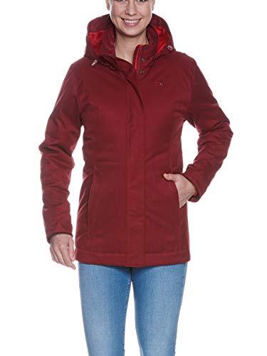 Tatonka Damen Mitho W's Jacket Jacke, Cherry red, 46