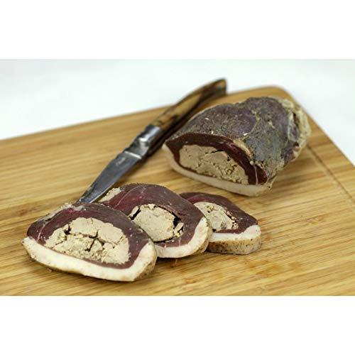 Esprit Foie Gras - Magret séché fourré au Foie Gras du Gers - 400 g - Canard élevé et transformé dans le Gers - Conserverie familiale